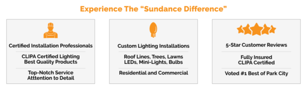 Sundance Window Cleaning - Holiday Lighting Services